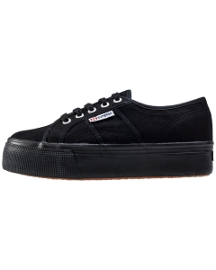 Superga 2790 LINEA UP AND DOWN Women Platform Trainers in Black Black