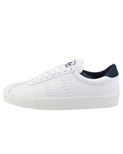 Superga 2843 CLUBS COMFLEAU Women Fashion Trainers in White Navy