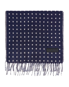 Ted Baker DOT WOVEN Scarf in Navy