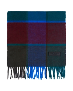 Ted Baker LARGE CHECK Scarf in Blue