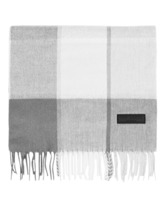 Ted Baker LARGE CHECK Scarf in Grey