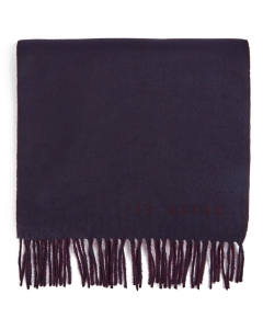 Ted Baker LUNCHA REVERSE COLOUR BLOCK Scarf in Navy