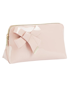 Ted Baker NICOLAI KNOT BOW MAKEUP Bag in Pink