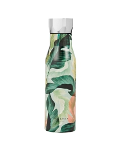 Ted Baker PALM PRINTED Water Bottle in Mid Green