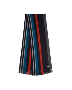 Ted Baker PANINI STRIPED Scarf in Navy