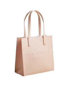 Ted Baker SEACON CROSSHATCH SMALL ICON Shoulder Bag in Pink