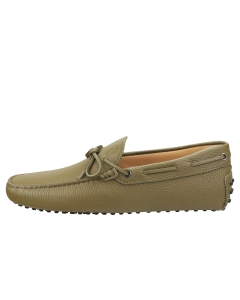TOD'S GOMMINO Men Loafer Shoes in Olive