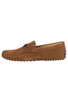 TOD'S MORSETTO CLAMP LEGNO GOMMINI Men Loafer Shoes in Tabaco