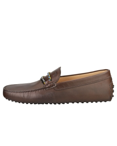 TOD'S MORSETTO CLUB NEW GOMMINI Men Loafer Shoes in Brown