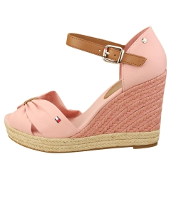 Tommy Hilfiger BASIC OPEN TOE HIGH Women Wedge Sandals in Soothing Pink