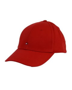 Tommy Hilfiger CLASSIC BASEBALL CAP Hat in Red