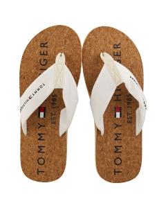 Tommy Hilfiger CORK Men Beach Sandals in Ivory