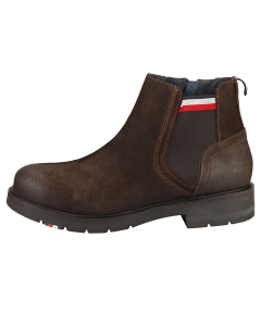 Tommy Hilfiger CORPORATE Men Chelsea Boots in Cocoa