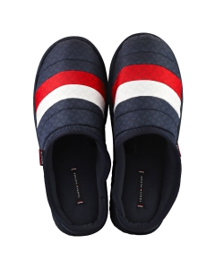 Tommy Hilfiger CORPORATE PADDED HOME Men Slippers Shoes in Red White Blue