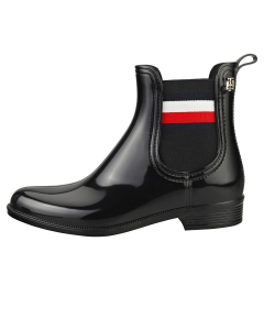 Tommy Hilfiger CORPORATE RIBBON RAINBOOT Women Ankle Boots in Black
