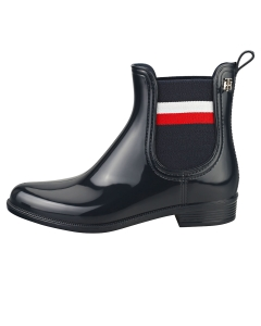 Tommy Hilfiger CORPORATE RIBBON RAINBOOT Women Ankle Boots in Desert Sky
