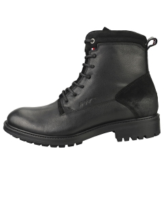 Tommy Hilfiger CREATIVE MIX ZIP Men Casual Boots in Black