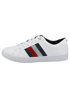 Tommy Hilfiger CRYSTAL SNEAKER Women Casual Trainers in White