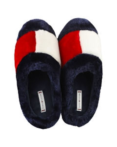 Tommy Hilfiger ESSENTIAL HOME Women Slippers Shoes in Red White Blue
