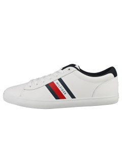 Tommy Hilfiger ESSENTIAL VULC STRIPES Men Casual Trainers in White