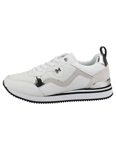 Tommy Hilfiger FEMININE ACTIVE CITY Women Fashion Trainers in White Silver