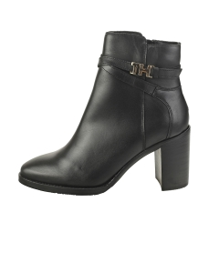 Tommy Hilfiger HARDWARE HIGH BOOTIE Women Ankle Boots in Black