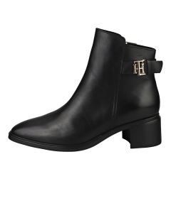 Tommy Hilfiger HARDWARE MID HEEL BOOT Women Ankle Boots in Black