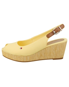 Tommy Hilfiger ICONIC ELBA SLING BACK Women Wedge Sandals in Yellow
