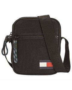 Tommy Hilfiger MINI REPORTER Classic Side Bag in Black