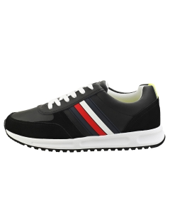 Tommy Hilfiger MODERN CORPORATE RUNNER Men Casual Trainers in Black