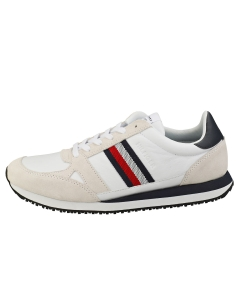 Tommy Hilfiger RUNNER LO STRIPES Men Casual Trainers in White