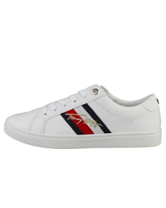 Tommy Hilfiger SIGNATURE CUPSOLE SNEAKER Women Fashion Trainers in White