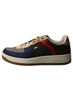 Tommy Jeans BASKET CUPSOLE Men Fashion Trainers in Dark Olive