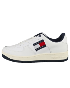 Tommy Jeans BASKET CUPSOLE LOGO Men Casual Trainers in White