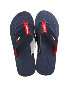 Tommy Jeans COMFORT FOOTBED Men Beach Sandals in Red White Blue
