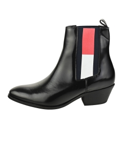 Tommy Jeans CORPORATE COWBOY BOOT Women Fashion Boots in Black