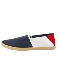 Tommy Jeans ESSENTIAL Men Espadrille Shoes in Red White Blue