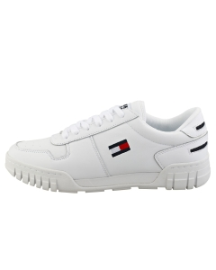 Tommy Jeans ESSENTIAL RETRO SNEAKER Men Casual Trainers in White