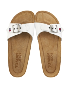 Tommy Jeans FLAG OUTSOLE Women Mule Sandals in White