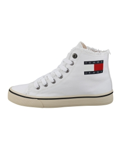 Tommy Jeans HIGHTOP SNEAKER Women Fashion Trainers in White