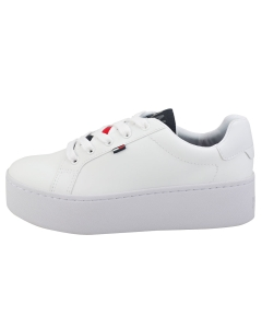 Tommy Jeans ICON PADDED NYLON Women Flatform Trainers in White