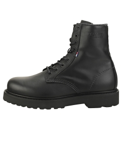 Tommy Jeans LACE UP BOOT Men Biker Boots in Black