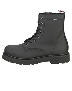 Tommy Jeans LACE UP Men Classic Boots in Black
