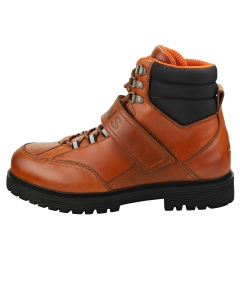 Tommy Jeans OUTDOOR STRAP Men Casual Boots in Cognac