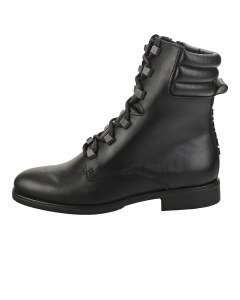 Tommy Jeans PIN LOGO Women Ankle Boots in Black