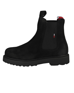 Tommy Jeans SUEDE CHELSEA BOOT Men Chelsea Boots in Black