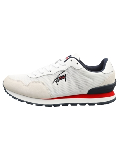 Tommy Jeans TJM LIFESTYLE MIX RUNNER Men Fashion Trainers in White