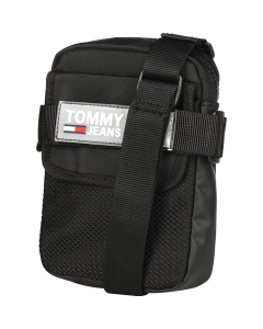 Tommy Jeans URBAN REPORTER Classic Side Bag in Black