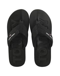 Tommy Jeans WEBBING BEACH Men Beach Sandals in Black