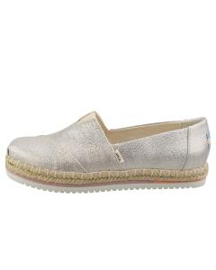 Toms ALPARGATA Women Platform Shoes in Sparkle Woven